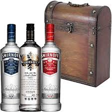 smirnoff vodka gift set