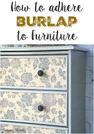 burlap furniture. burlap furniture