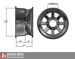 Rim Fitment Chart Atv Utv Tire Wheel Fitment Guide Jensen Bros Off Road