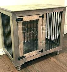 wooden dog crate furniture. Dog Crate Coffee Table Kennel Ideas Rustic Indoor . Wooden Furniture