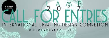 call for entries l a m p s 2017 lighting design competition