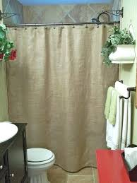 burlap shower curtain ideas burlap shower curtain rustic country french chic 45 burlap shower curtain with