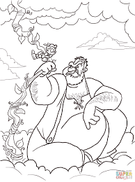 James, Snail and Giant Peach coloring page   Free Printable ...