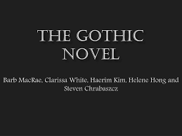 Goth Light Novel Ppt The Gothic Novel Powerpoint Presentation Free