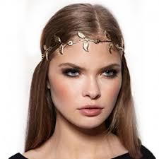 Ozdoba Do Vlasov čelenka Zo Zlatých Listkov Vysperkujsask