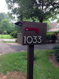 modern mailbox numbers. Brilliant Numbers Mailbox Modern House Numbers 1033 Inside Modern Mailbox Numbers