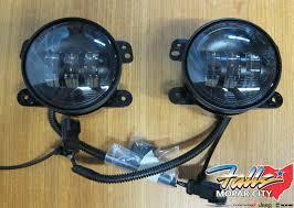 Mopar Fog Lights Jeep Wrangler Details About 2007 2017 Jeep Wrangler Jk Led Front Fog Lights Mopar Oem