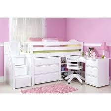 storage loft bed with desk best desk under bed ideas on bunk bed with desk bunk