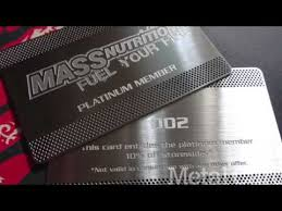 Steel Business Cards Metal Business Cards Custom Stainless Steel Business Cards Youtube