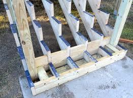 diy deck stair railing attaching bottom deck posts