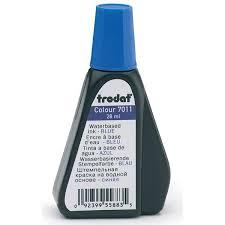 <b>Штемпельная краска 7011</b> 28мл синяя (<b>TRODAT</b>) 52973