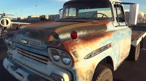 1959 Chevrolet Apache Big Window Factory Napco 4x4 with Factory ...