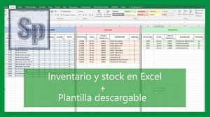 Inventario Excel Excel How To Inventory And Control Stock Entrances And Exits Hd Spanish Tutorial