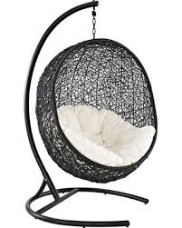 hanging lounge chair. Perfect Chair Encase AllWeather Wicker Hanging Lounge Chair And H