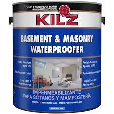Kilz Basement And Masonry Waterproofer