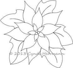 Poinsettia Designs Cyndis Poinsettia Block