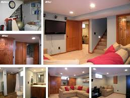 basement remodels before and after. Small Basement Design Remodeling Before And After New Tile Collection Remodels