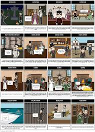 great expectations summary storyboard by rebeccaray