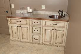 paint and glaze vanity
