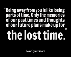Parts Of Time Love Quotes