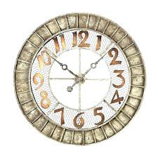 24 outdoor wall clock clocks medium image for with temperature inch best ideas on giant mar