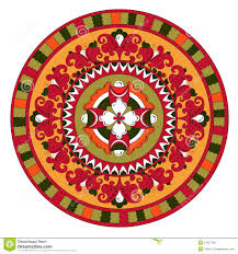 russian traditional circle or nt flowers o stock photos russian traditional circle or nt flowers o