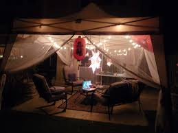 Pop Up Canopy With Lights An Outdoor Haven