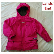 Lands End Jacket Size Chart Lands End Winter Coat