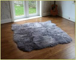 ikea sheepskin rug large home design ideas