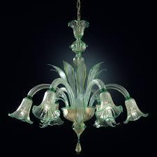 artital chandelier sospiri in original murano blown glass