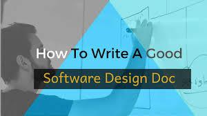 Software Design Document Sample Doc How To Write A Good Software Design Doc Zibtek Blog