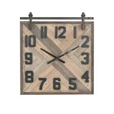 square wooden wall clock modern square og wall clock wooden square pendulum wall clock