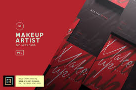 makeup artist business card bc053 exle image 1