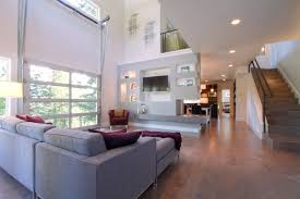 urban modern living e with fire station style garage door patio door modern living