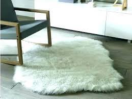 faux animal skin rug fake rugs hide la fur for uk ski