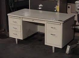 metal office tables. Office Desk 1950\u0027s Metal Tables