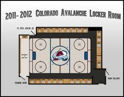 Colorado Avalanche Seating Chart Thelifeisdream