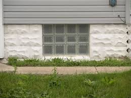 image of 4 reason glass block basement windows