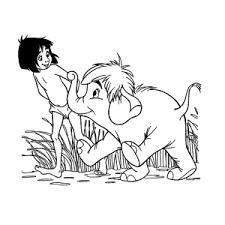 Leuk Voor Kids Jungle Boek Kleurplaten