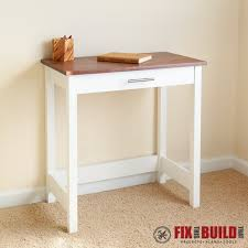 ana white writing desk diy projects regarding small designs 3