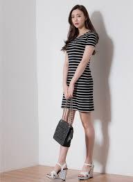 Korean Style Ladies Summer Fashion Women Casual Dress Day Cocktail