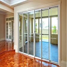 frameless glass stacking sliding doors