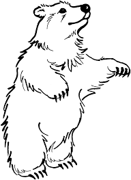 Small Picture Free Bear Coloring Pages