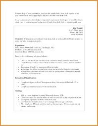 Housekeeping Resume Objective Noxdefense Com