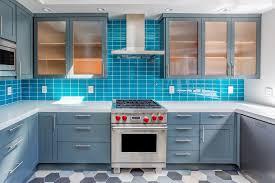 Best Blue Paint For Kitchen Cabinets New Glass Backsplash Tile Looks Green Elegant