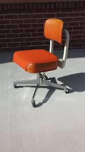 vintage office chairs. Vintage 1970\u0027s Orange Steelcase Office Chair Chairs F