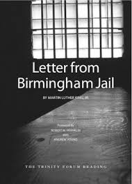 Letter From Birmingham Jail | The Trinity Forum