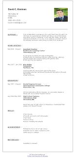 Resume Builder Free Online Http Www Jobresume Website Resume