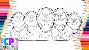 Power Rangers Megaforce Coloring Pageshow To Color Power Rangers