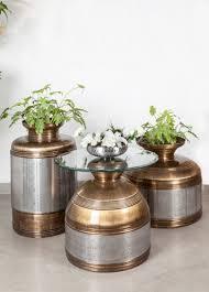 brass and metal furniture. Patra Planters \u0026 Table - Edida 2016 Furniture Winner Brass And Metal N